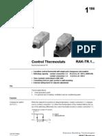 Control Thermostat TR