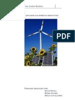 Vantagens das energias renováveis