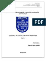 Curso Basico Profesionales de Valoracion Inmobiliaria Soitave Zulia Corregido
