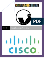Cisco Preparation for Final Exam [DEMO]
