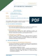 INFORME Nº 01 DE PRÁCTICA TOPOGRÁFICA