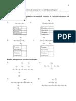 Guía de Ejercicios  de nomenclatura en Química Orgánica