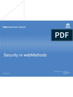 Security in Web Methods