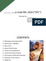 Direct Taxes Code Bill, 2010 v.1