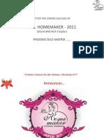 Mrs. HomeMaker 2011next