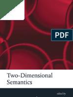 Garcia Carpinero Two Dimensional Semantics
