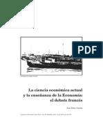 (CATAÑO, Jose Felix) La ciencia económica actual y la enseñanza de la economia