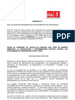 Moción pago ayuntamientos PSOE