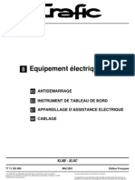 TRAFIC 3 - Equipement Electrique