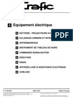 TRAFIC 3 - Equipement Electrique 2