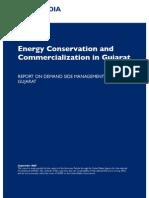 Report on Demand Side Management in Gujarat
