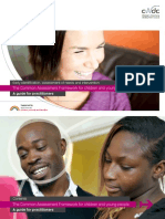 Common Assessment Framework Practitioners Guide March 2010