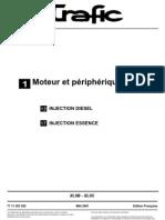 TRAFIC 3 - Moteur et Périphériques