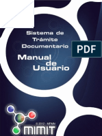 Manual Usuario de Tramite Document a Rio v 3.0