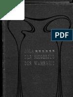 Emile Zola - Die Affäre Dreyfus, Der Siegeszug der Wahrheit