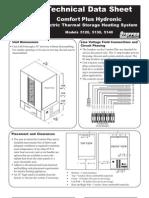 Steffes 5100 Tech Data Sheet
