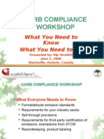 Kip Howlett - CHPVA CARB Compliance Workshop