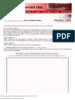 Prática Contábil Ltda. - Preenchimento de Notas Fiscais
