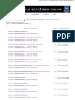 disciplinas ofertadas 2012-1