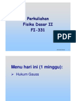 3. Hukum Gauss New [Compatibility Mode]