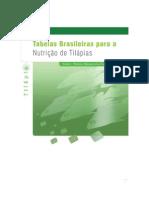 Tabelas Brasileiras Para a Nutricao de Tilapias