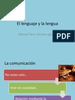 El Lenguaje y La Lengua
