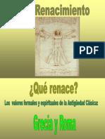 CARACTERÍSTICAS GENERALES DEL RENACIMIENTO