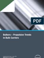 Propulsion Trend in Bulk Carrier