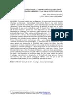 INTER-RELAÇÕES PROFESSOR, ALUNOS E FAMÍLIA NO PROCESSO ENSINO E APRENDIZAGEM MEDIADO PELAS SALAS DE TECNOLOGIAS