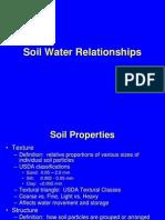 C Soil Water Relationships