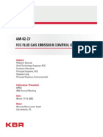 FCC Flue Gas Emission Control Options