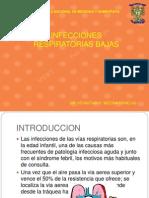 Infecciones de Vias Respiratorias en Pediatria