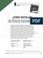 Te-In02_instalar Techo Policarbonato