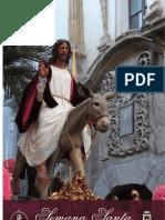 Libro de mano de la Semana Santa de Baza 2012