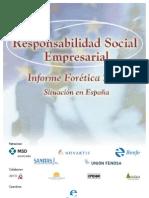 Responsabilidad social de la empresa en España - Informe Foretica 2002