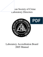 ASCLD-LAB Legacy Manual 2005 - Copy