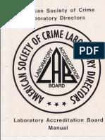 Ascld-lab Manual 1997