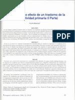 Autismo como Efecto de un Trastorno de la Intersubjetividad Primaria (I)