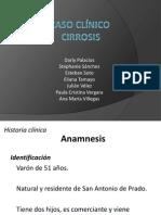 Caso clínico cirrosis