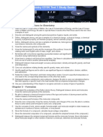 Chemistry 1211K Test 1 Study Guide