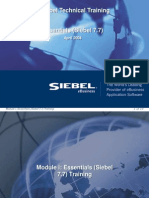 00ESS_Essentials (Siebel 7.7) Training