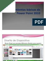 Herramientas básicas de Power point 2010