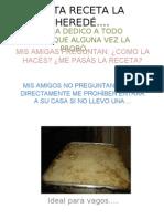 Torta de Manzana Para Vagos