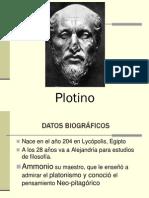 filosofía de plotino