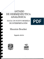 Bechot Mauricio - Tratado de Hermeneutica Analogica