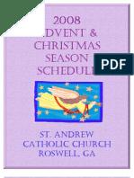 Advent and Christmas 2008