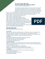 Bài tập thực hành môn quản lý mạng viễn thông