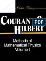 (2) Courant, Hilbert - Methods of Mathematical Physics Vol. 1 (578p)(T)