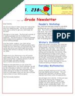 3rd Grade December 2008 Newsletter