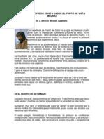PASIÓN Y MUERTE DE CRISTO DESDE EL PUNTO DE VISTA MÉDICO